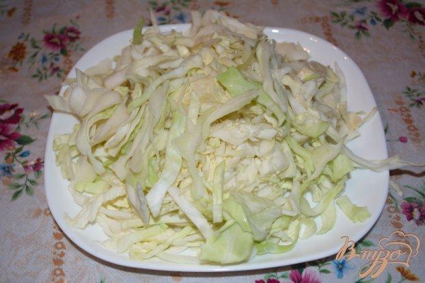 Рецепт Дрожжевой пирог с курицей и капустой и яичной заливкой