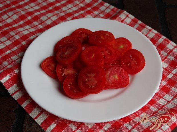 Рецепт Овощной салатик с мятой и лаймовой заправкой
