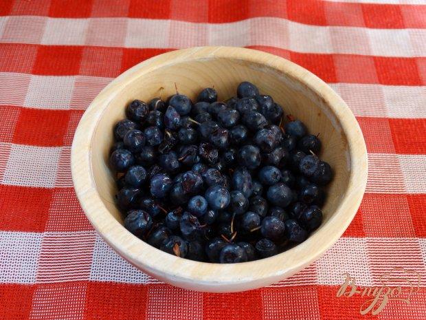 Рецепт Голубично-грушовый смузи с мороженым