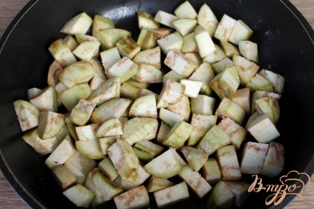 Рецепт Гювече из красного перца, баклажан и помидоров