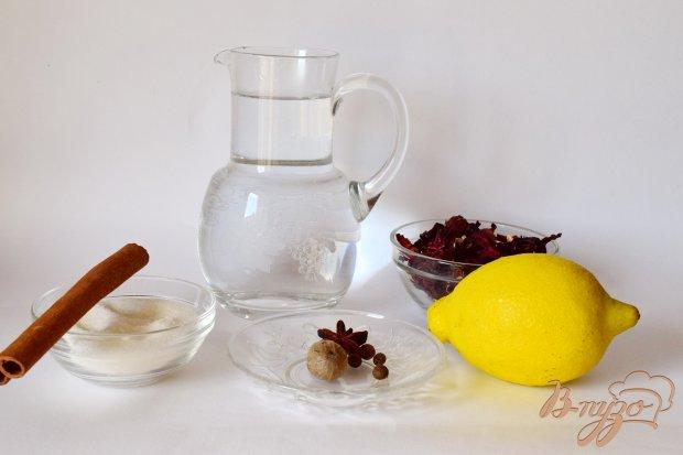 Рецепт Чай каркаде с пряностями