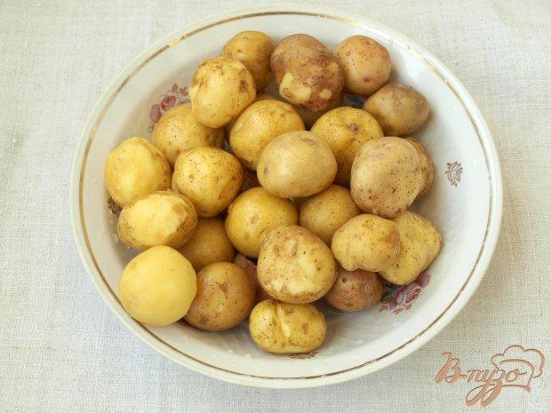 Рецепт Гарнир из молодого картофеля в сковороде