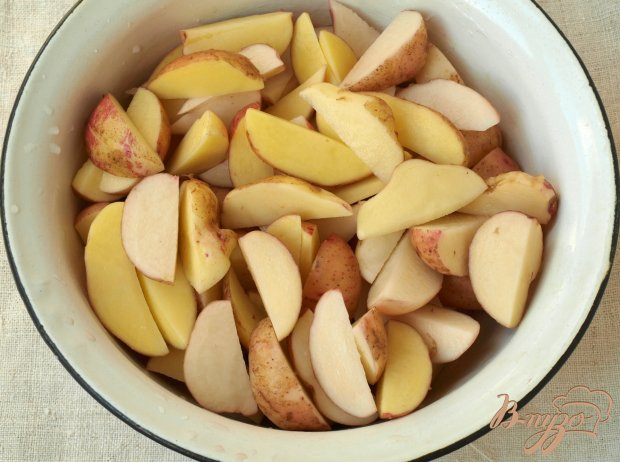 Рецепт Картошка по-селянски в духовке