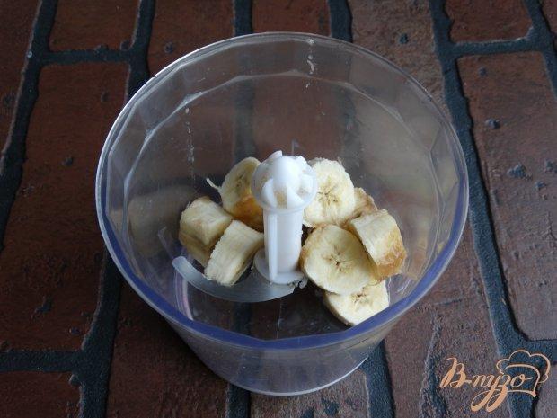 Рецепт Черничный смузи с мороженным