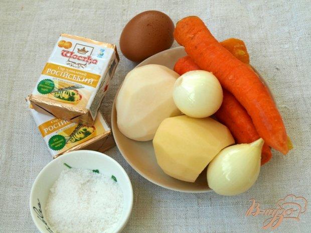 Рецепт Овощной суп-пюре с плавлеными сырками