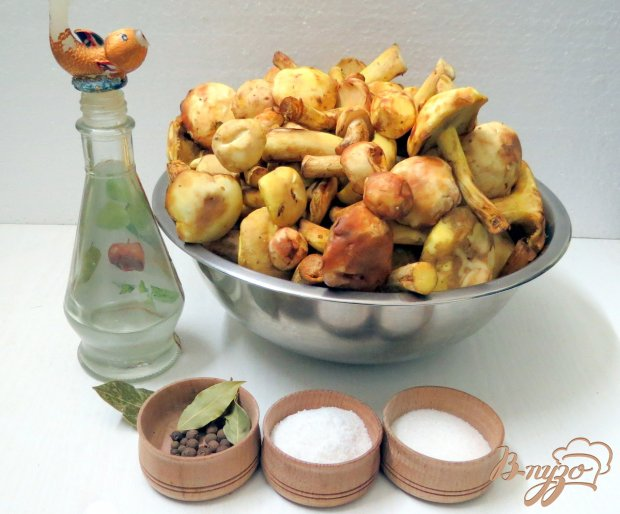 Рецепт Заготовка грибов на зиму