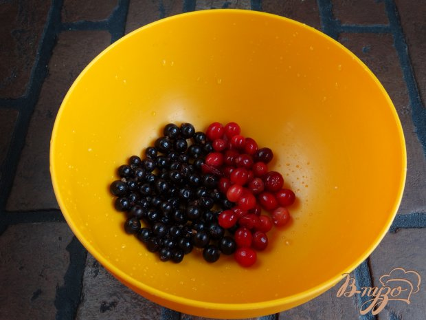 Рецепт Клюквенно-смородиновый кисель