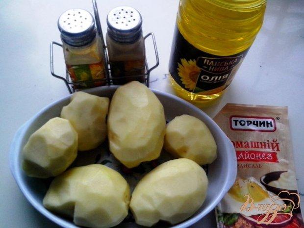 Рецепт Картофель «Хворостинка»