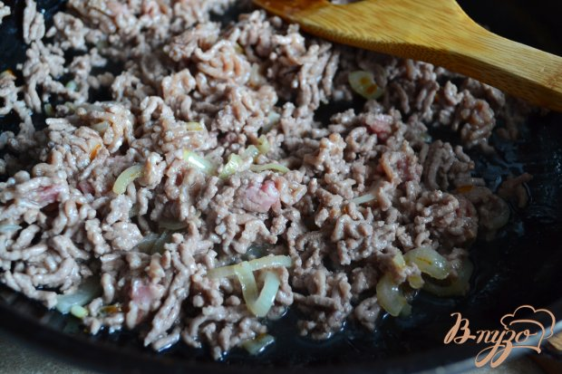 Рецепт Запеканка с фаршем , шампиньонами и макаронами