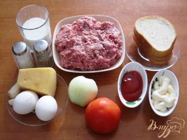 Рецепт Запеченные котлеты с помидорами и сыром