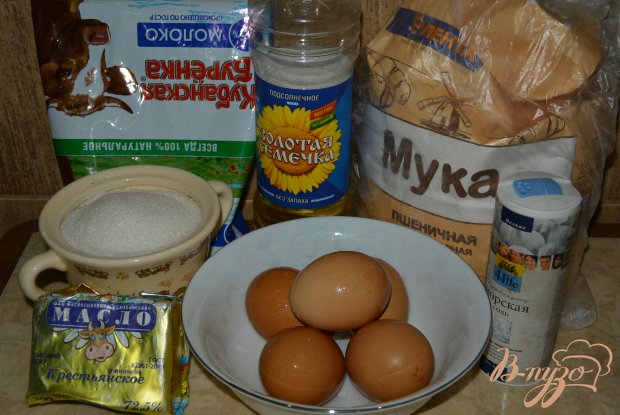 Рецепт Блины с ежевичным вареньем