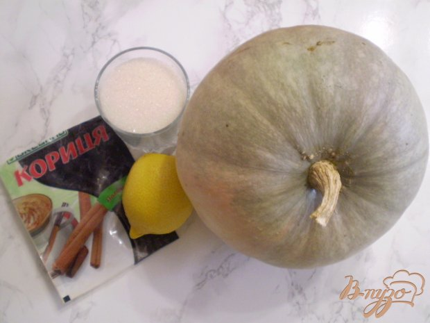 Рецепт Тыквенный джем с лимоном и корицей