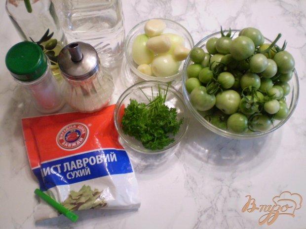 Рецепт Зеленые помидоры черри на зиму