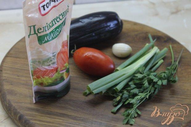 Рецепт Жаренные баклажаны с соусом и помидорами