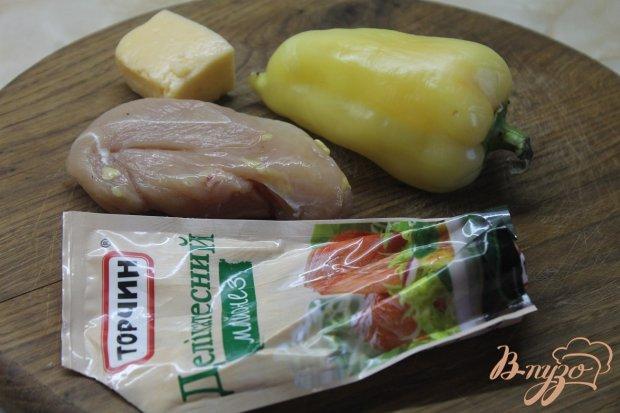 Рецепт Жульен с курицей и перцем под сыром