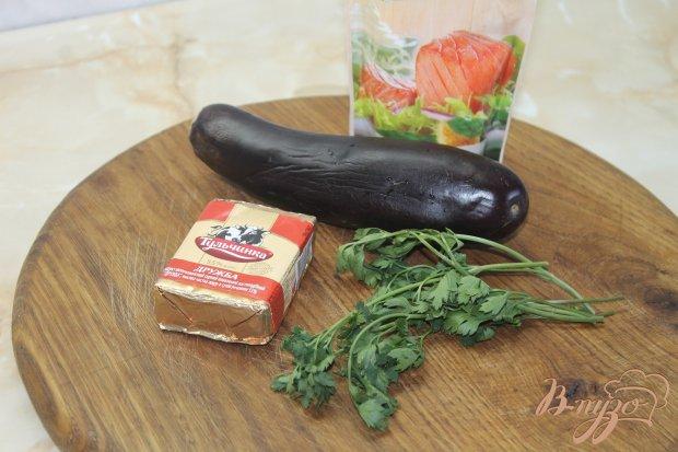 Рецепт Баклажанная закуска с плавленным сыром