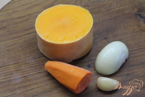 Рецепт Тыквенный суп - пюре с охотничьими колбасками