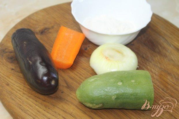 Рецепт Овощи в кляре с соевым соусом