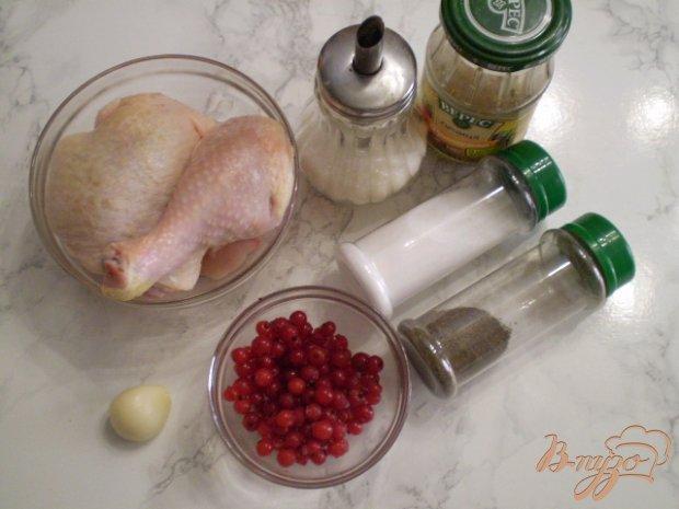 Рецепт Курица с горчицей, чесноком и смородиной