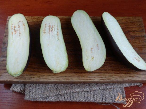 Рецепт Баклажаны запеченные с сыром и орехами