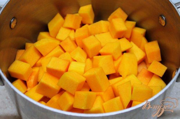 Рецепт Пюре из яблок и тыквы для малышей