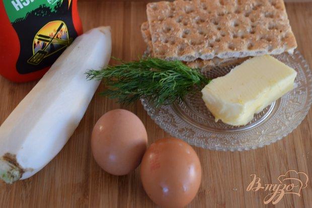 Рецепт Бутерброд с дайконом и яичным салатом