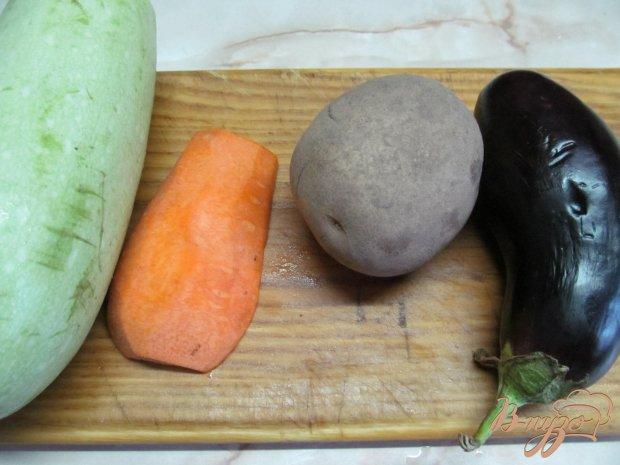 Рецепт Овощной салат с шампиньоном