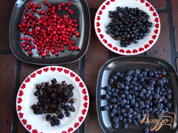 Рецепт Замороженная компотная смесь из лесных ягод