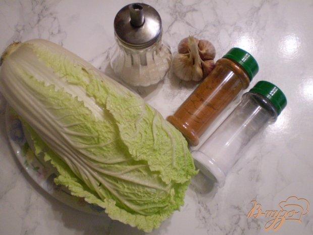 Рецепт Капуста пекинская по-корейски (острая)
