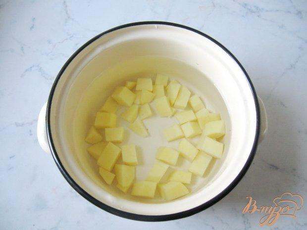 Рецепт Диетический суп с куриными кнелями и рисом