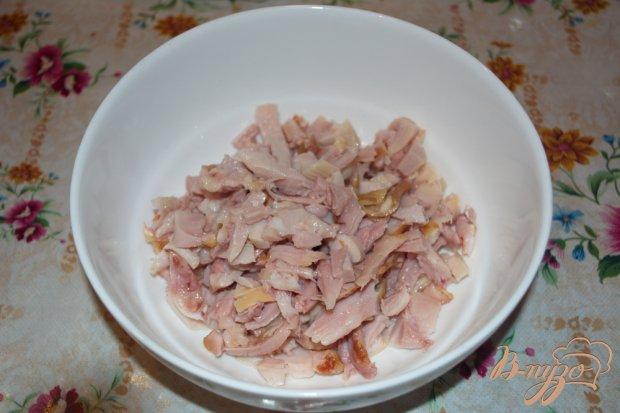 Рецепт Салат с курицей без заправки