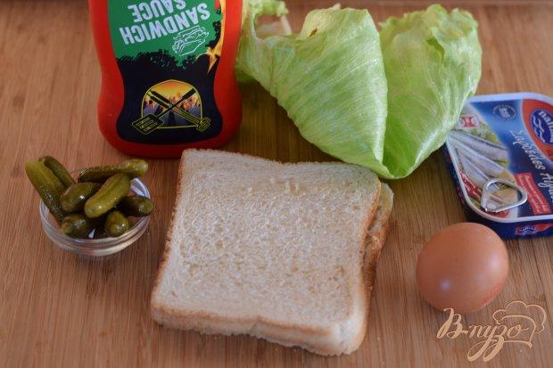 Рецепт Бутерброд с сардинами