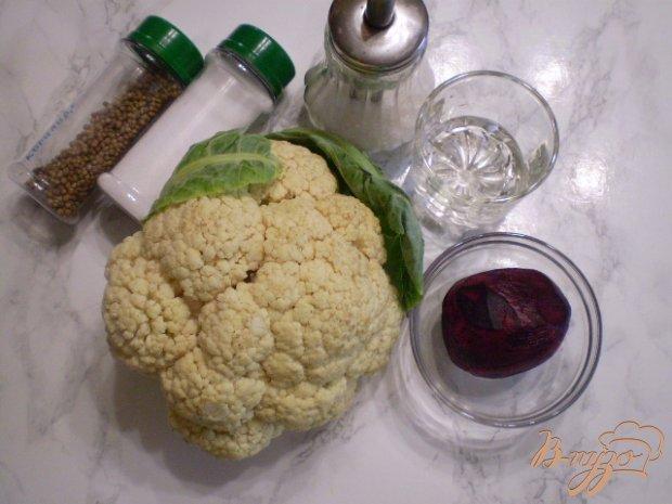 Рецепт Закатка цветной капусты со свеклой