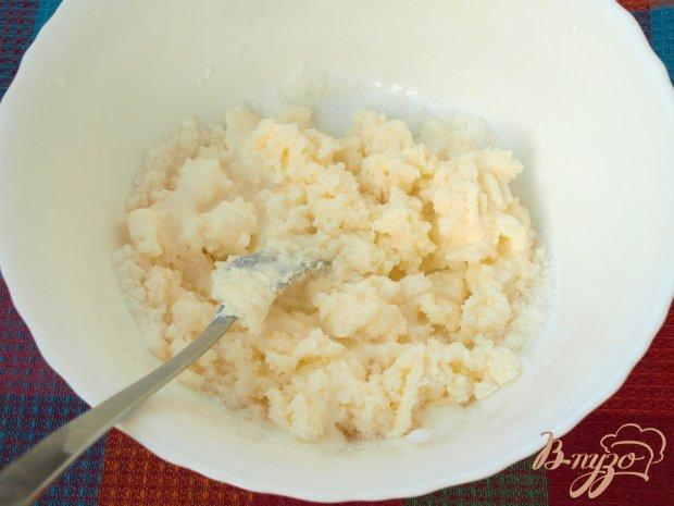 Рецепт Пирог из слив и абрикос на кефире