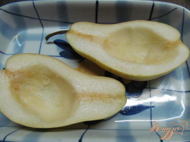 Рецепт Десерт из груши с творогом