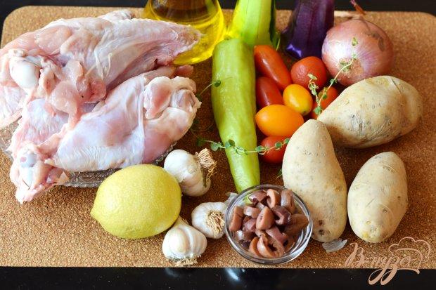 Рецепт Курица по-гречески