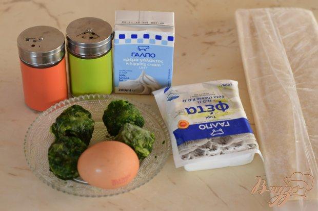 Рецепт Слоеные пирожки со шпинатом и фетой