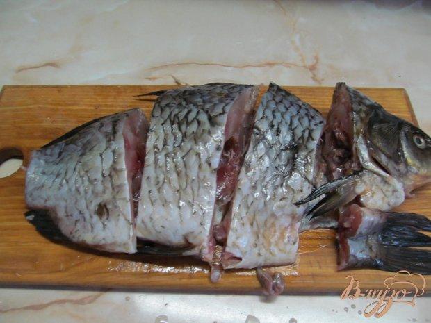 Рецепт Карась в кефире с тархуном