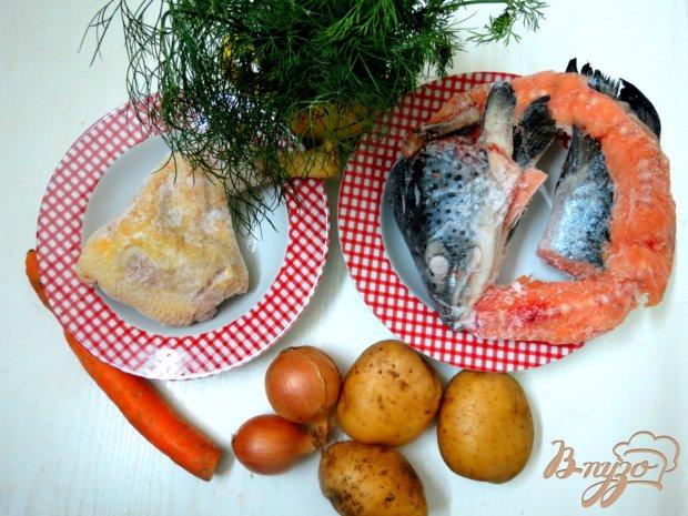 Рецепт Рыбный суп на курином бульоне