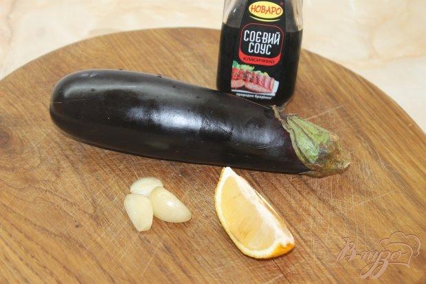 Рецепт Баклажаны жаренные в соевом соусе с чесноком