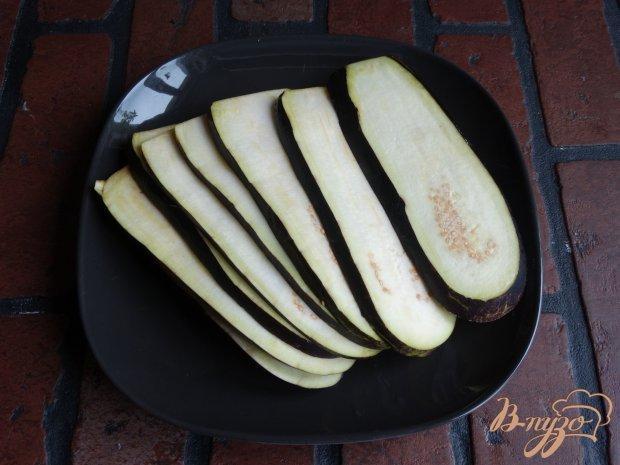 Рецепт Закуска из баклажанов и крабовых палочек