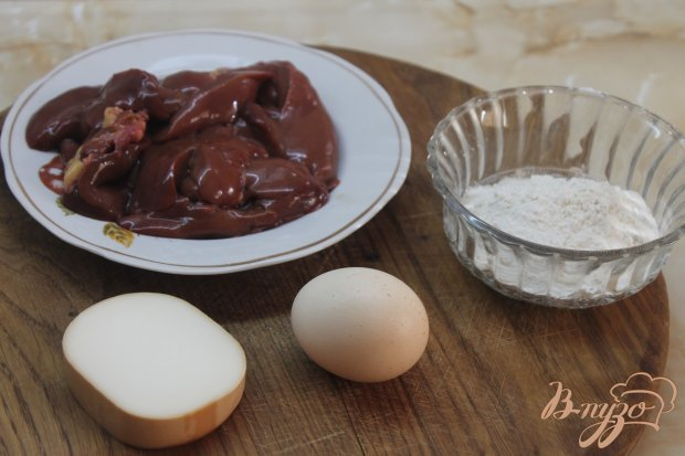 Рецепт Печеночные котлеты с плавленным сыром