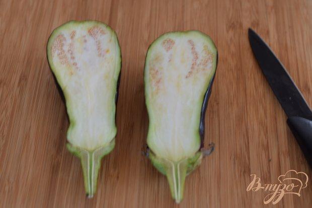 Рецепт Баклажаны с фетой и виноградом