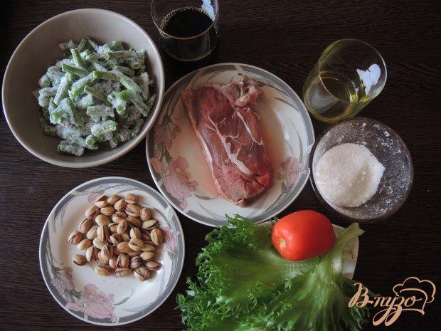 Рецепт Тёплый салат с говядиной и овощами