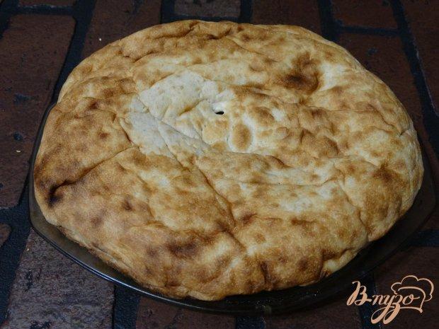 Рецепт Пицца на толстом лаваше