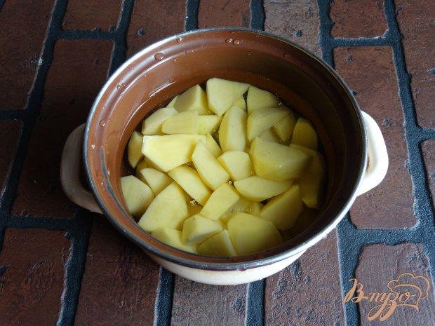 Рецепт Картофельно-тыквенное пюре с шафраном