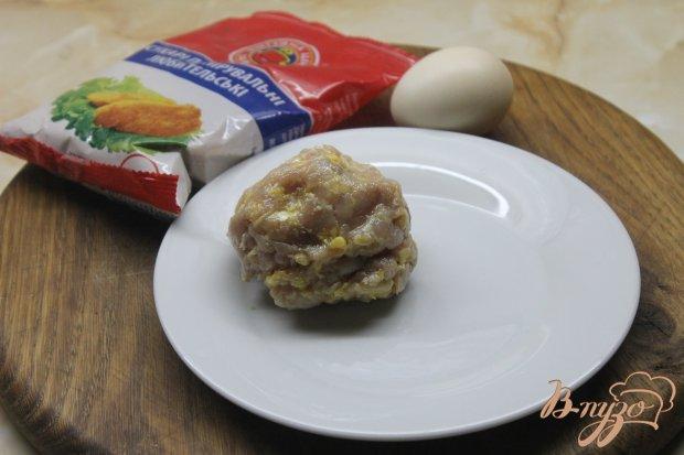 Рецепт Куриные шарики в панировке