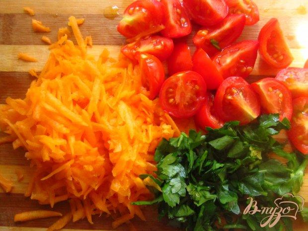 Рецепт Фаршированный перец рисом и тыквой