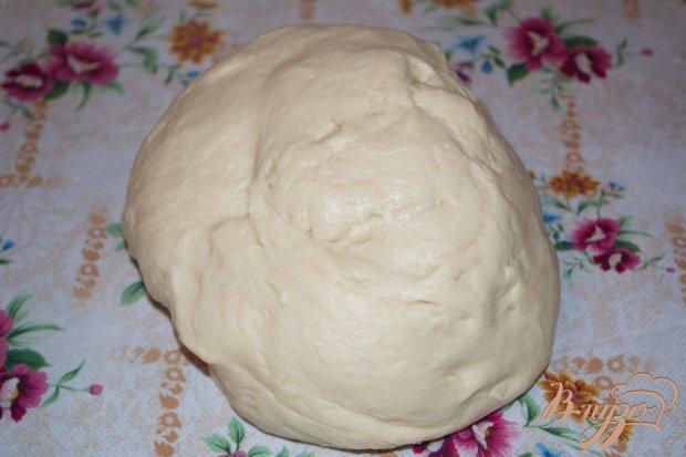 Рецепт Домашний пирог с тушеной капустой и болгарским перцем