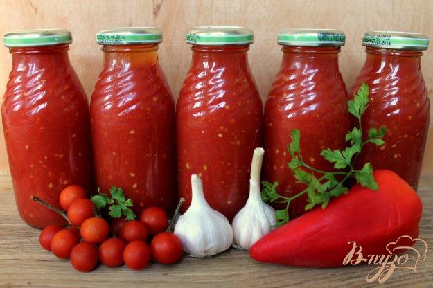 фото рецепта: Заправка для борща из помидоров и красного перца